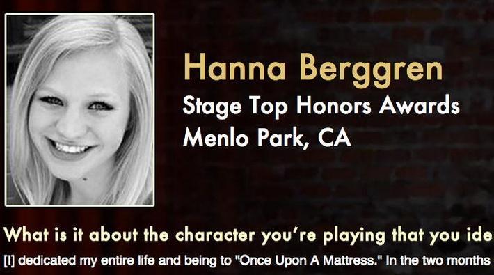 Starring: Hanna Berggren