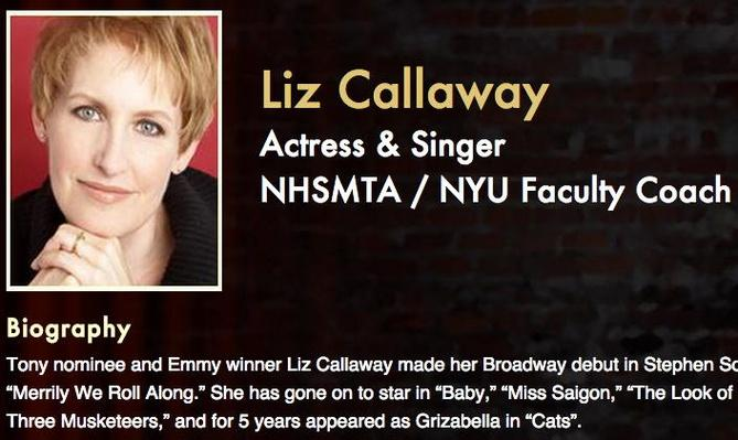 Meet the Pros: Liz Callaway