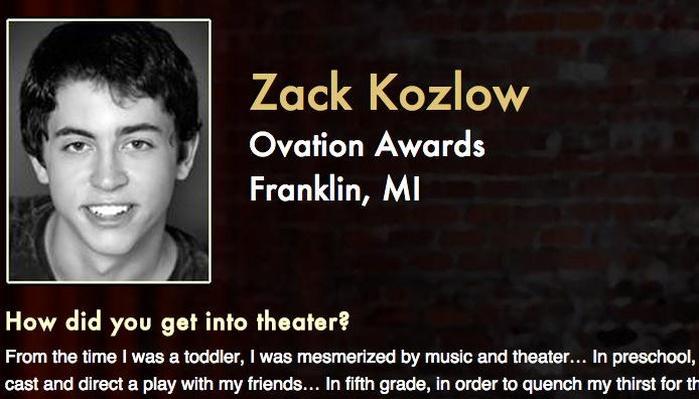 Starring: Zack Kozlow