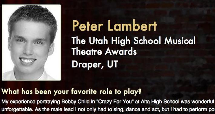 Starring: Peter Lambert