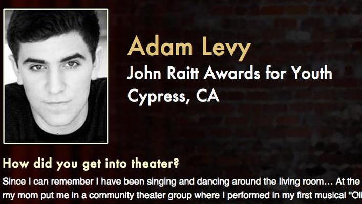 Starring: Adam Levy