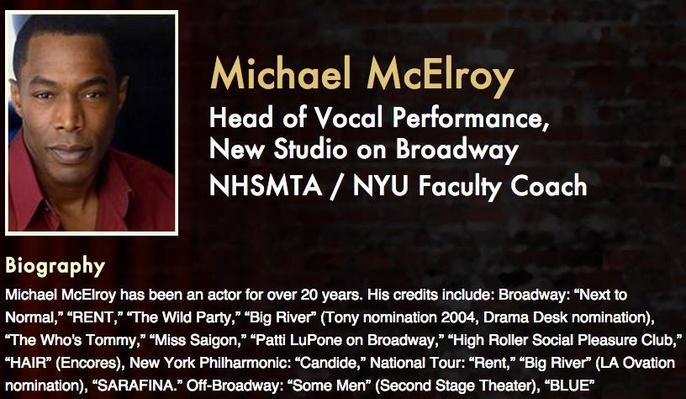 Meet the Pros: Michael McElroy