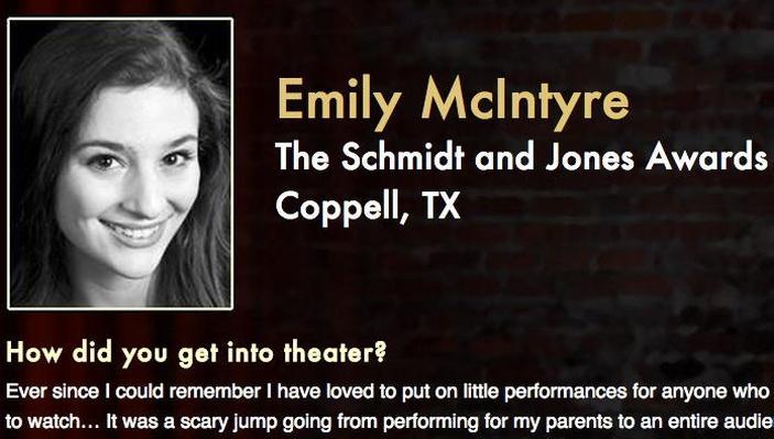 Starring: Emily McIntyre