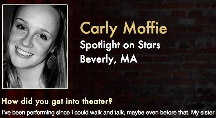 Starring: Carly Moffie