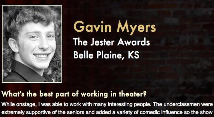 Starring: Gavin Myers