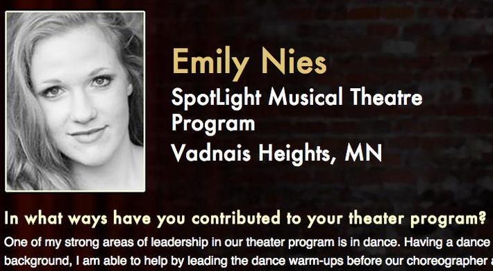 Starring: Emily Nies