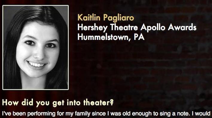 Starring: Kaitlin Pagliaro