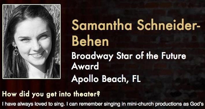 Starring: Samantha Schneider-Behen