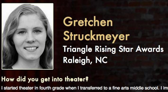 Starring: Gretchen Struckmeyer
