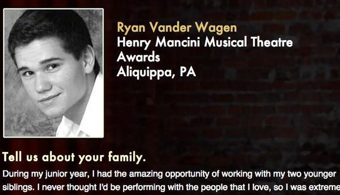 Starring: Ryan Vander Wagen