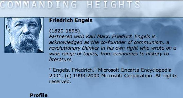 Economic Architect: Friedrich Engels