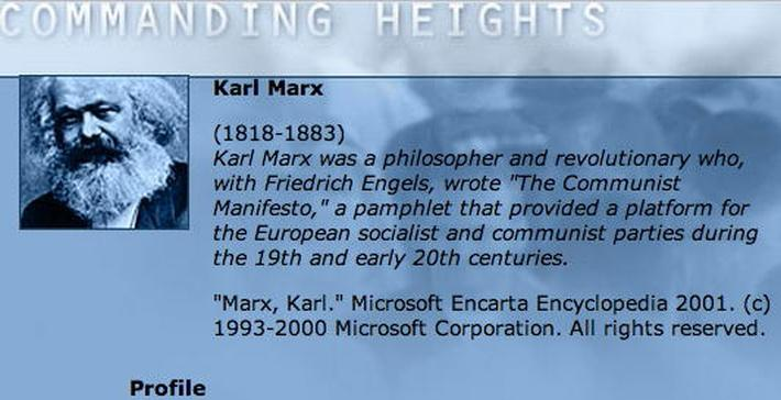 Economic Architect: Karl Marx