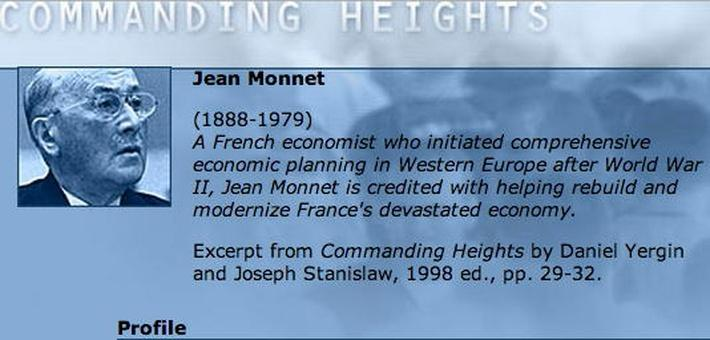 Economic Architect: Jean Monnet