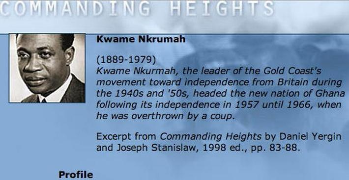 Economic Architect: Kwame Nkrumah