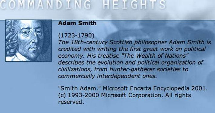 Economic Architect: Adam Smith
