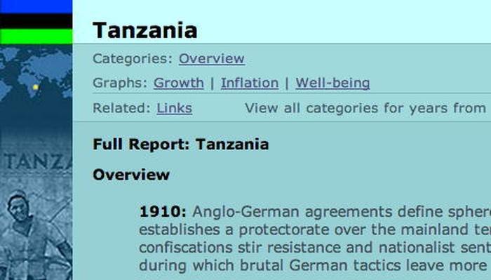 Country Report: Tanzania