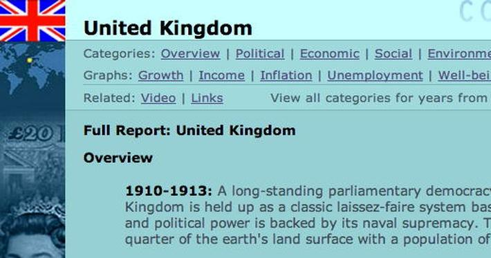 Country Report: United Kingdom
