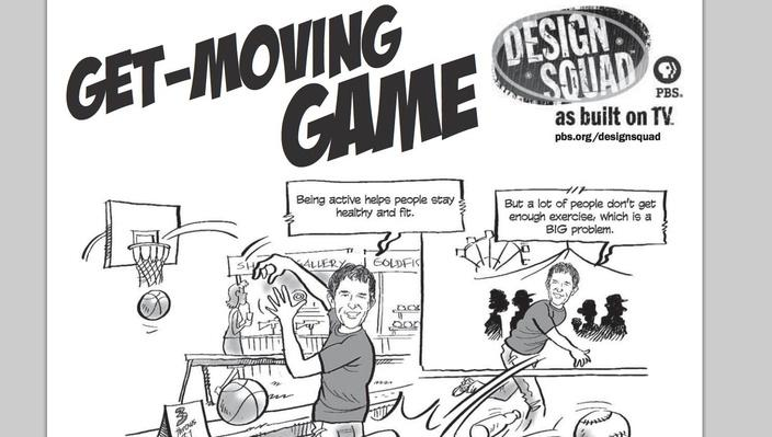 Get-Moving Game