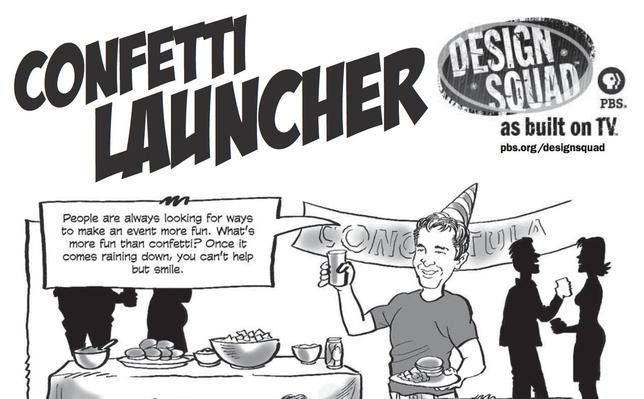 Confetti Launcher Challenge