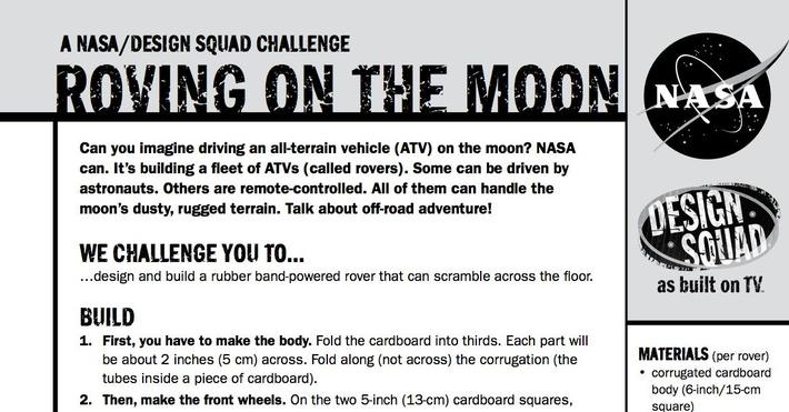 Roving on the Moon Challenge