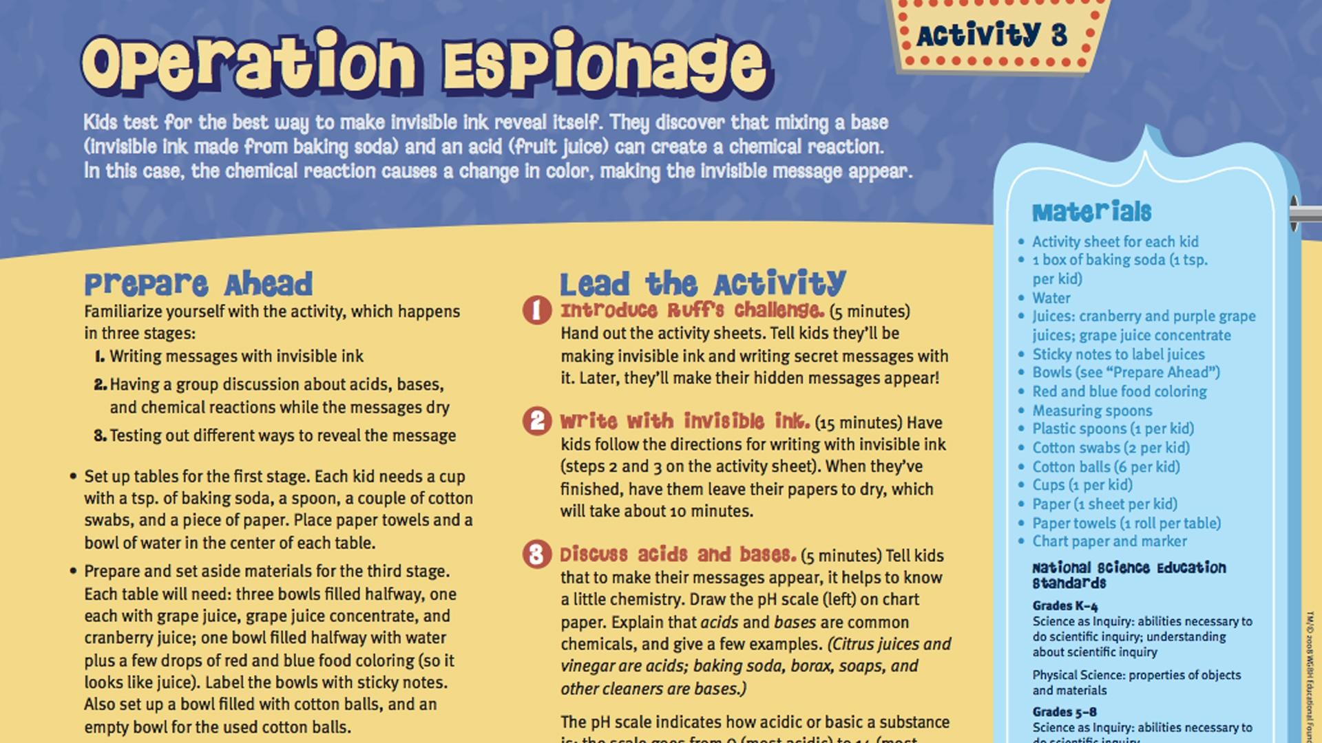 Fetch! | Operation Espionage | PBS LearningMedia