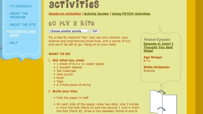 Fetch! | Go Fly a Kite