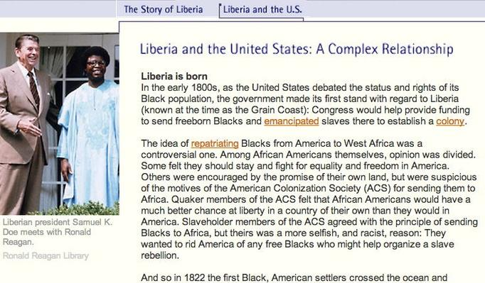 Liberia and the U.S.: A Complex Relationship