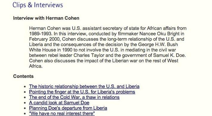 Interview with Herman Cohen