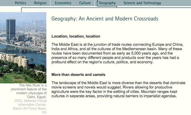 Geography: An Ancient and Modern Crossroads