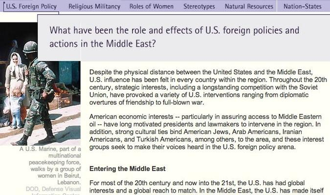 effects of u s policy in the middle east essay Essay on american foreign policy american foreign policy american foreign policy – imperialism to the cold war it all started with the idea of manifest destiny – it was god's will for the us to expand westward, from sea to shining sea.