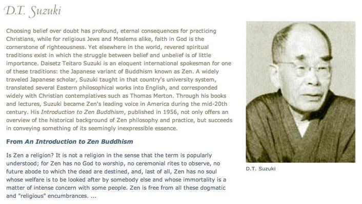 Other Voices: D.T. Suzuki