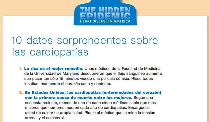 The Hidden Epidemic: Heart Disease in America, 10 datos sorprendentes sobre las cardiopatias