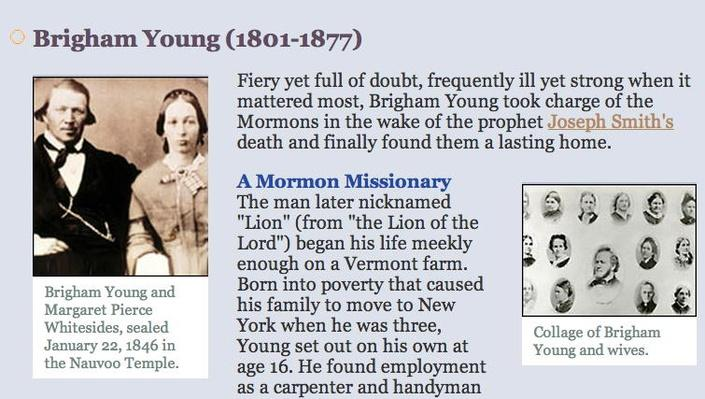 People & Events: Brigham Young (1801-1877)