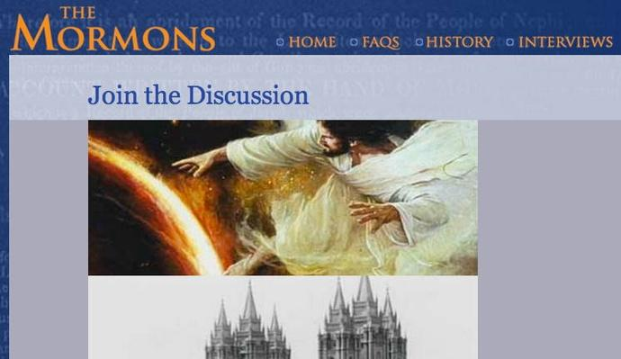 The Mormons: Join the Discussion
