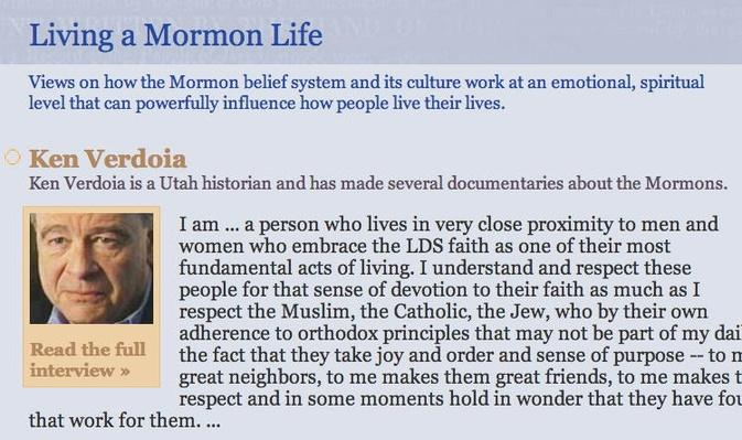 The Mormon Faith: Living a Mormon Life