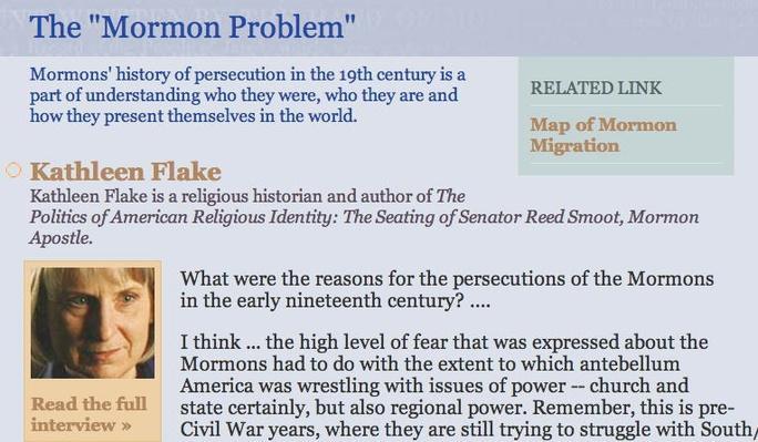 "The ""Mormon Problem"""