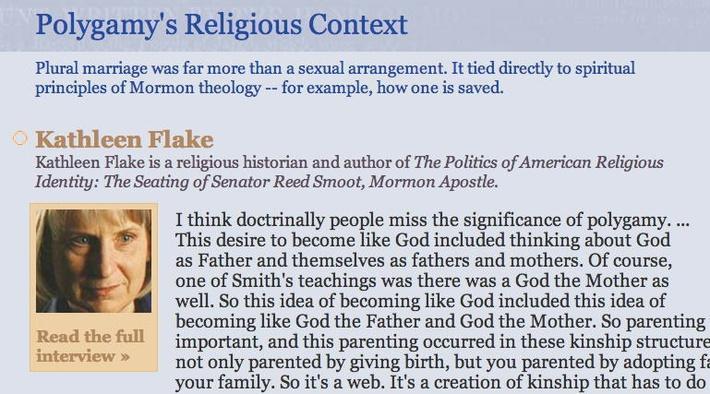Polygamy's Religious Context