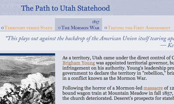 """a history of the mormon religion in the united states Such as mormons chapter 1 offers a detailed look at the religious composition of the united states and how it """"a brief history of religion and."""