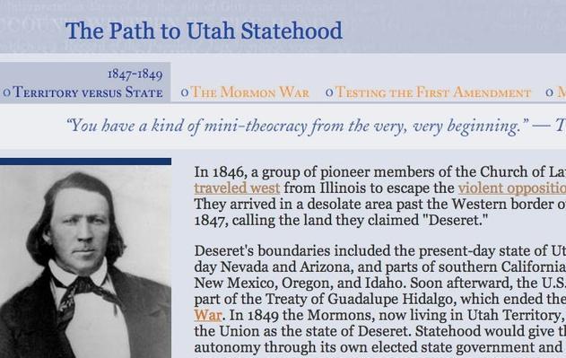 The Path to Utah Statehood: Territory vs State