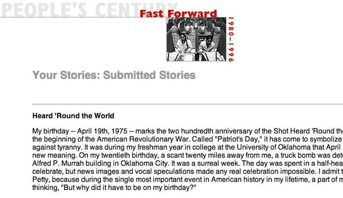 Fast Forward, Selected Submissions