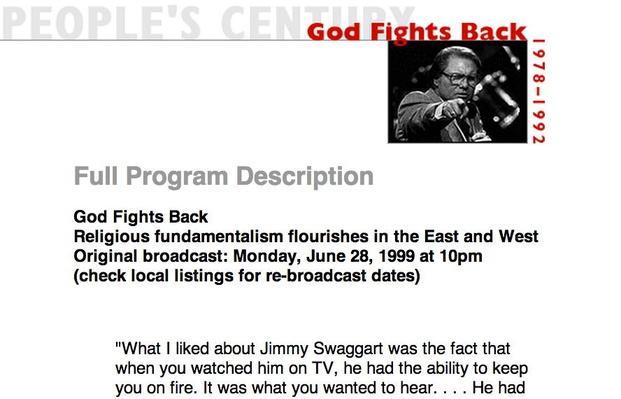 God Fights Back, Full Program Description