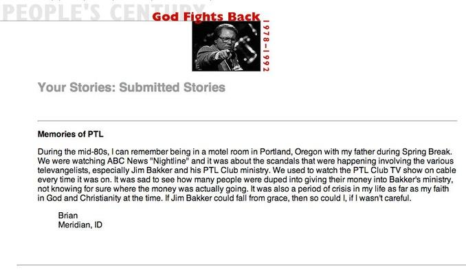 God Fights Back, Selected Submissions
