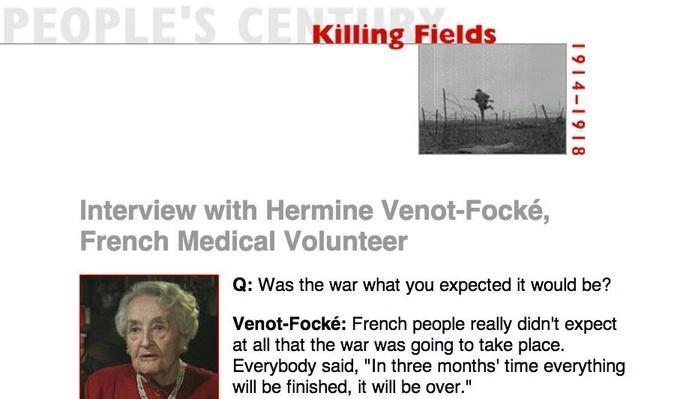 Killing Fields, Eyewitness Interview: Hermine Venot-Focke