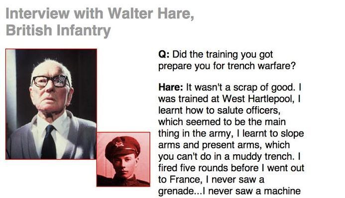 Killing Fields, Eyewitness Interview: Walter Hare