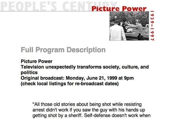 Picture Power, Full Program Description