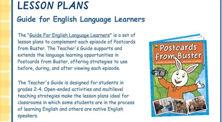Guide for English Language Learners