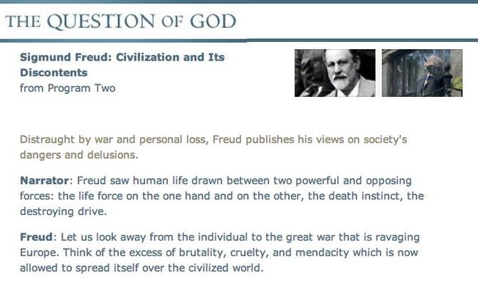 "Freud - ""Civilization and Its Discontents"" Transcript"