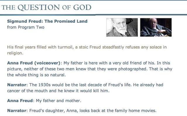 "Freud - ""The Promised Land"" Transcript"