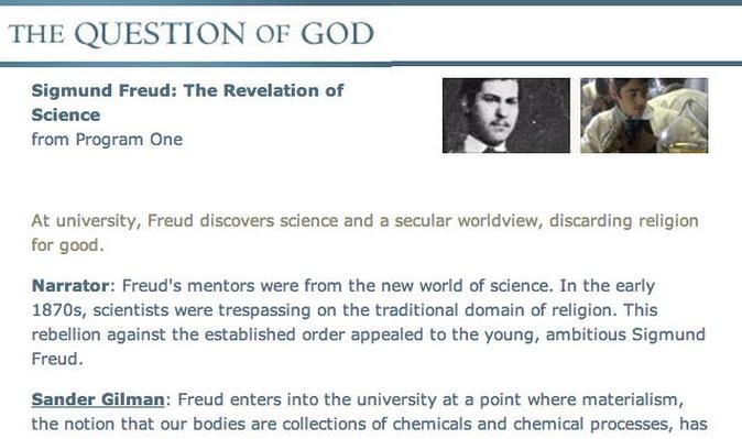 "Freud - ""The Revelation of Science"" Transcript"