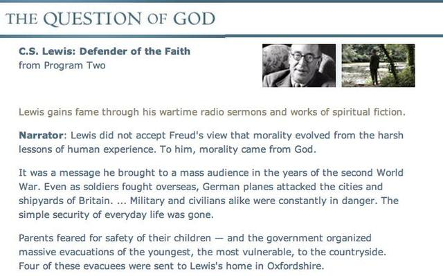 "Lewis - ""Defender of the Faith"" Transcript"
